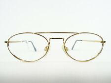 Golden Vintagefassung Metal Frame Oldschoolfassung Professorbrille Size M