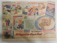 "Ralston Cereal Ad: Tom Mix ""Comic Book #6"" Premium 1941 Size: 11 x 15 inches"