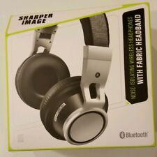 Sharper Image Noise Isolating Bluetooth Headphones