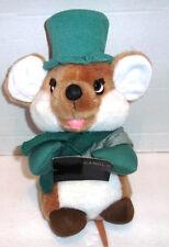 "Applause 10"" Caroling Mouse Plush Stuffed Animal Vtg 1988"