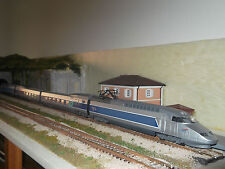 FILE HO 1:87 TRAIN rèseau TGV Paris-Milan SNCF Atlantique MADE IN ITALY NEW
