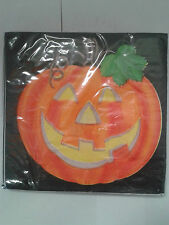 Halloween Pumpkin Table Paper Napkins 20 pack Spooky Tableware 2 FOR 1