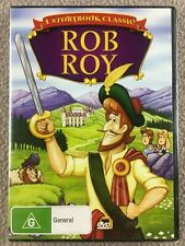 Rob Roy A Story Book Classic DVD New & Sealed Region 4