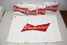 5x Budweiser Golf Bag Towel 24x16 Ab Brand New Authentic Sealed