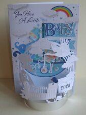 A Baby Boy 3D Flectere  Build Your Card