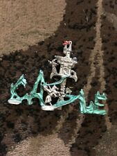 Fantasy Mythical & Magic Sunglo Pewter Dragon Wizard Castle