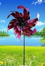XXLWindrad Mallorca Pink Shiny, Metall 47x15x172cm Winddancer  2366w
