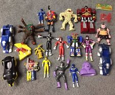 Power Rangers Mighty Morphin, Zeo, Turbo Lot (Figures, Zords, Toys)