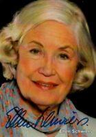 Ellen Schwiers, Schauspiel 60 Jahre, Der letzte Zeuge,original signiert/signed !