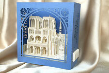3D Pop Up Greeting Card France Notre-Dame de Paris, any occasion, luxury gift
