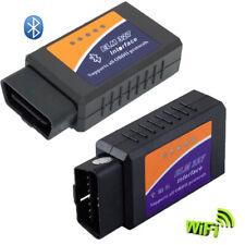 ELM327 Bluetooth Wifi ODB2 Diagnostic Car Auto ODBII Scanner Code Reader Tool