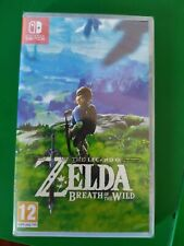 The Legend of Zelda : Breath of the Wild  Switch (neuf sous blister)