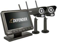 Defender Digital Wireless Security System, 2 Night Vision Surveillance Cameras