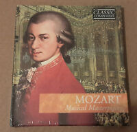 Mozart Musical masterpieces, CD FOLLETO,SELLADO SIN ABRIR, PERFECTO ESTADO