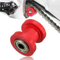 8mm Chain Roller Slider Tensioner Wheel Guide Pit Dirt Moto Bike Motorcycle Red