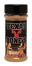 Texas T. Bone's  Meat Rub  Seasoning Rub  7.5 oz.