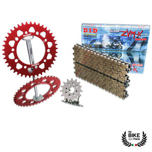 Honda Chain Kit CBR 1000 RR Yr 06 - 16 DID 530 ZVMX Supersprox Red 15/42