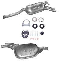 Auspuff Mitteltopf Endtopf Mercedes E320 / 300 - C124 + Montageware