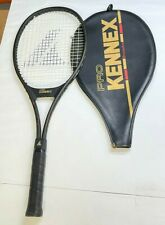 Pro Kennex Mid Size Graphite Glass Bronze Ace Tennis Racket w/cover - 4 3/8 Grip