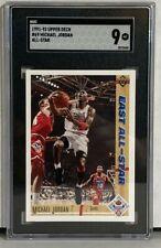1991-92 Upper Deck Michael Jordan All Star #69 SGC 9 MT
