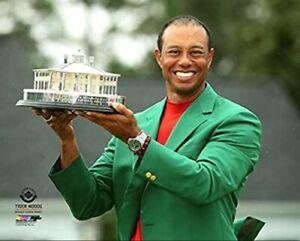 "Tiger Woods 2019 Masters Champion Green Jacket Photo (Size: 8"" x 10"")"