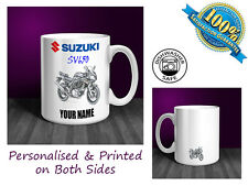 Suzuki SV650 Motorbike Personalised Ceramic Mug Gift (MB032)