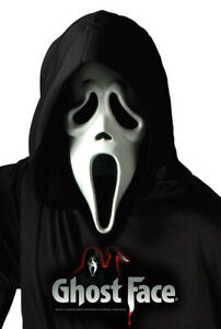 Scream 4 Mask ~ Ghostface ~Officially Licensed Movie Mask NEW by Fun World