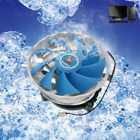 DC12V 3PIN 9 Blade Silent CPU Cooling Cooler Fan Heatsink Support Intel/AMD CPU