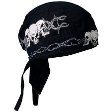 Sugar WOMAN BANDANA Panno headwrap biker chopper CAP Biker Harley cranio Girl