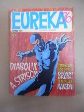 EUREKA n°4 1976 ed. Corno  Numero Speciale Diabolik  [G870]
