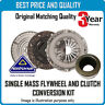 SOLID MASS FLYWHEEL CLUTCH KIT  FOR BMW CK10085F OEM QUALITY