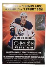 2019-20 Upper Deck O-Pee-Chee Platinum Hockey Factory Sealed 5 Pack Blaster Box