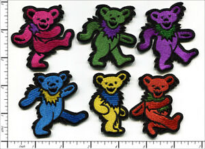 30 Pcs Embroidered Iron on patches 6 mixed Lovely Dancing Bear AP031dB