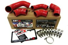 HPS Red EVO 8 9 Silicone Intercooler Turbo Hose Kit OEM Replacement 57-1227-RED