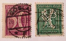 Deutsches Reich 30 & 50 German Empire - my grandmothers stamps