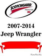 3M Scotchgard Paint Protection Film Clear Pre-Cut Kits 2007 - 2014 Jeep Wrangler