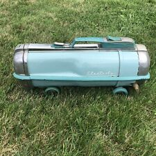 Vintage Electrolux Automatic Model G Vacuum Cleaner Canister Only Blue  AS IS