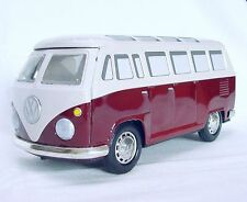 Ichiko Japan VW VOLKSWAGEN TRANSPORTER VAN PASSENGER BUS 2 Tin Friction Toy Mint