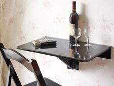Sobuymesa plegable de pared mesa para Portátil 60x40cm negro Fwt03-sch es
