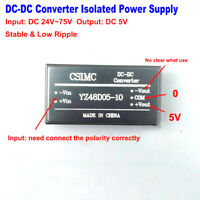 DC-DC Buck Step Down 24V~72V to ±5V 1A Isolated Converter Power Supply Module