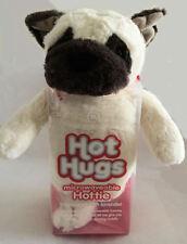 Aroma Home Hot Hugs Microwaveable Hottie Pug Dog Lavender Plush Soft Animal New