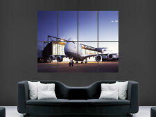 A380 AIRPLANE AIRCRAFT FLIGHT TAXIWAY AIRPORT ART WALL LARGE IMAGE GIANT POSTER