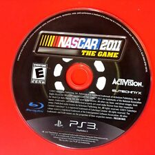 NASCAR The Game 2011 (Sony PlayStation 3, 2011) Disc Only # 140018