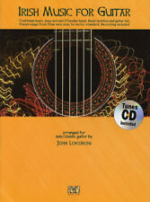 Irish Music for Guitar Classical Solos Sheet Music 27 Pieces Tab Book Cd Pack