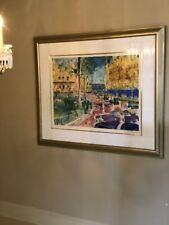 "Leroy Neiman Serigraph ""Place Du Casino Monte Carlo"""