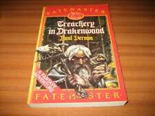 TREACHERY IN DRAKENWOOD BY PAUL VERNON FATEMASTER FANTASY GAME BOOK