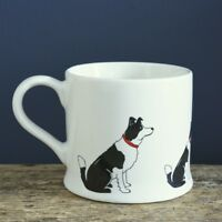 Sweet William BORDER COLLIE Dog Mug | Great Gift for Sheepdog Lovers | FREE P&P