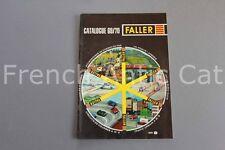 E664 Catalogue Train maquette Ho FALLER 1969 70 869 64 pages auto motor sport