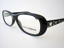 New Dolce and Gabbana Eyeglasses D&G 3122 Black 501 Authentic 52-16-135