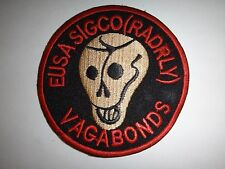 US 581st Signal Relay Company (Radio Relay) EUSA SIGCO (RADRLY) VAGABONDS Patch